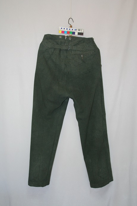 Общий вид брюк до реставрации