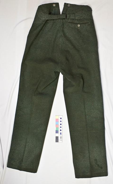 Общий вид брюк после реставрации.