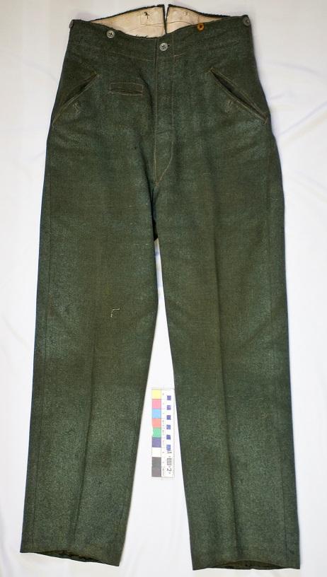Общий вид брюк после реставрации