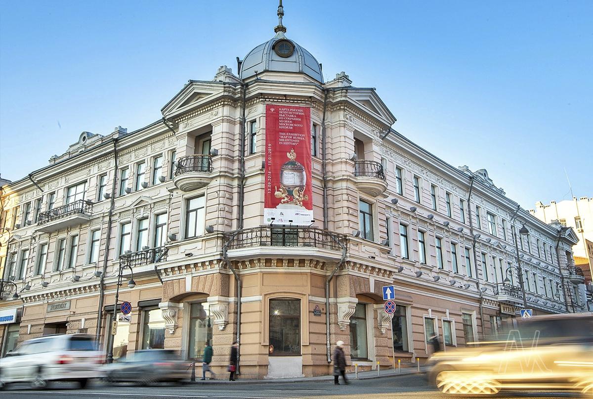 Главный корпус Музея истории Дальнего Востока