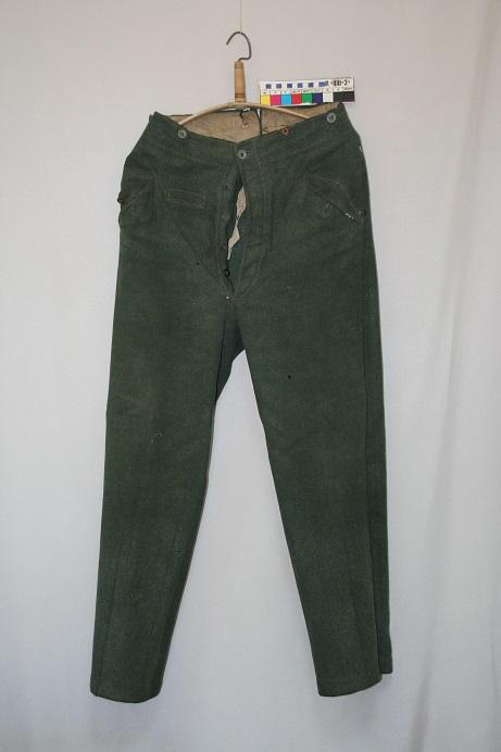 Общий вид брюк до реставрации.