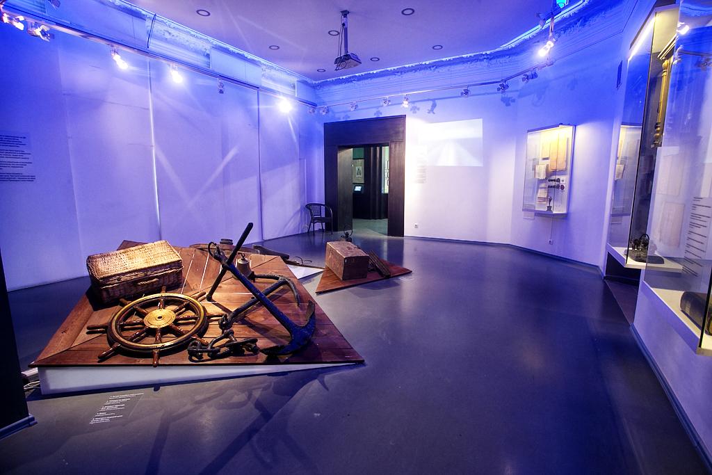 Экспозиция «Время Людей»: первый зал «Время Дороги»