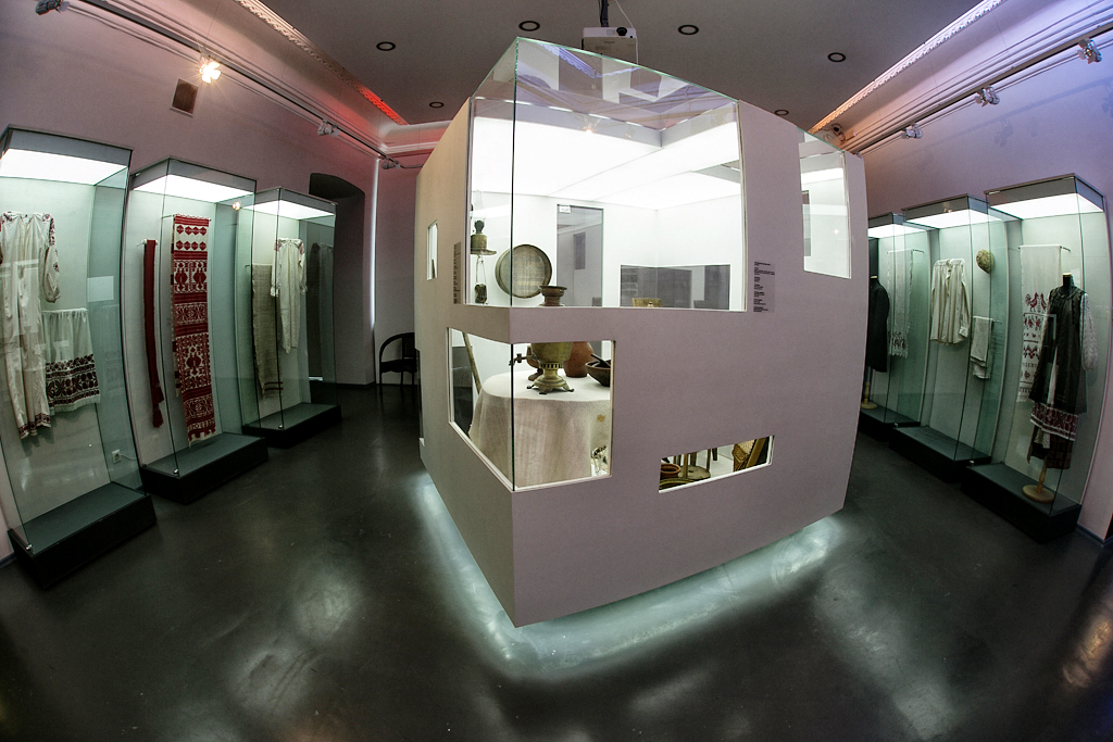 Экспозиция «Время Людей»: второй зал «Время Дома»
