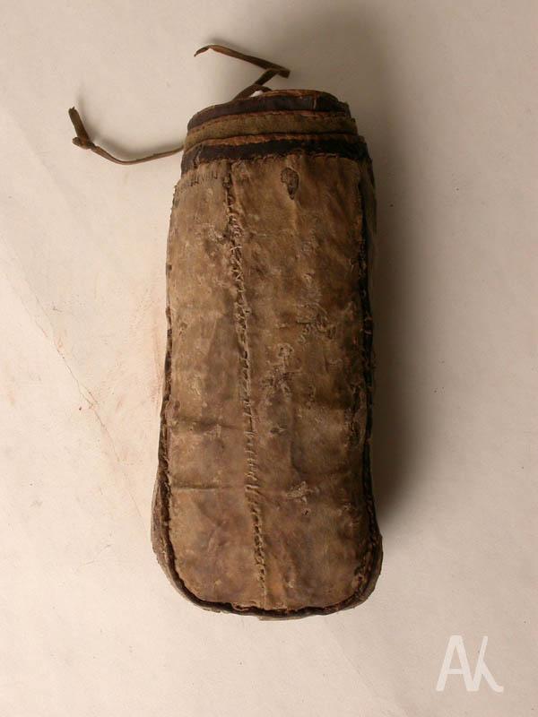 Сумочка для хранения кремня и трута после реставрации