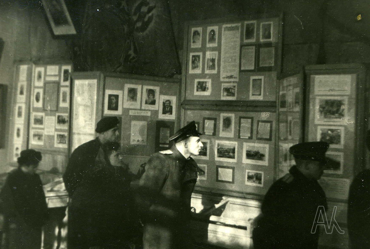 Экспозиция исторического отдела в музее им. В.К. Арсеньева