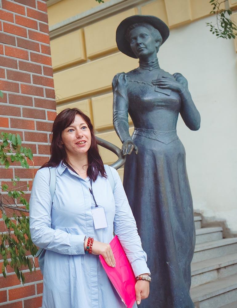Пешеходная экскурсия <br>«Владивосток глазами Элеоноры Прей»