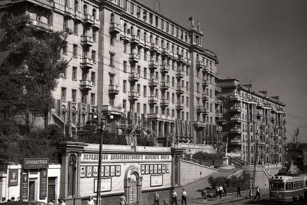 Улица 25 Октября (Алеутская). 1953 год.