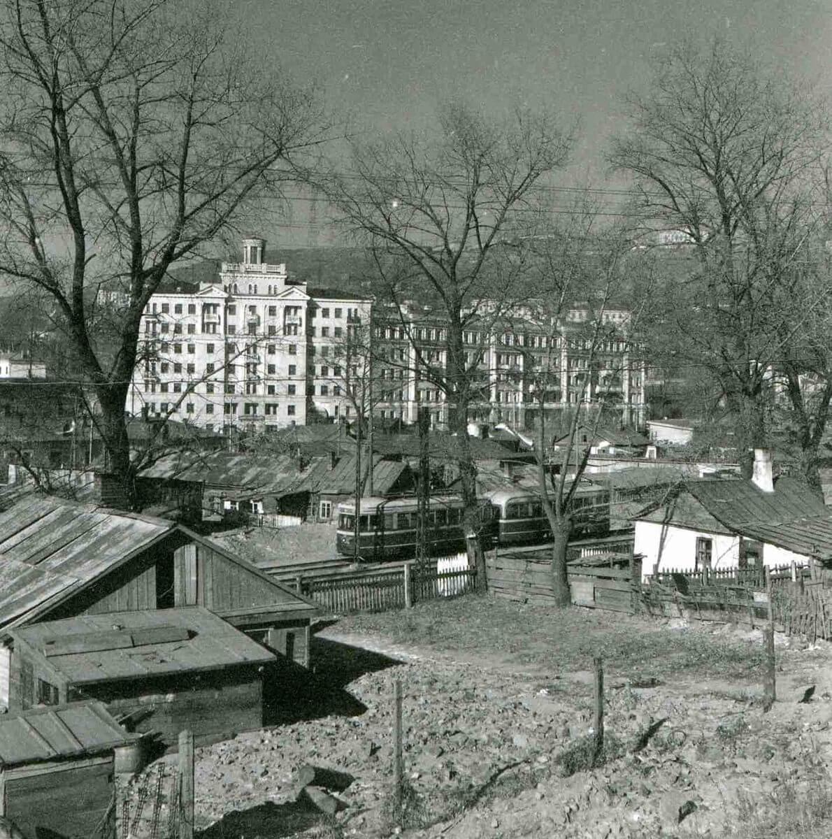 Площадь Луговая. 1960-е годы.