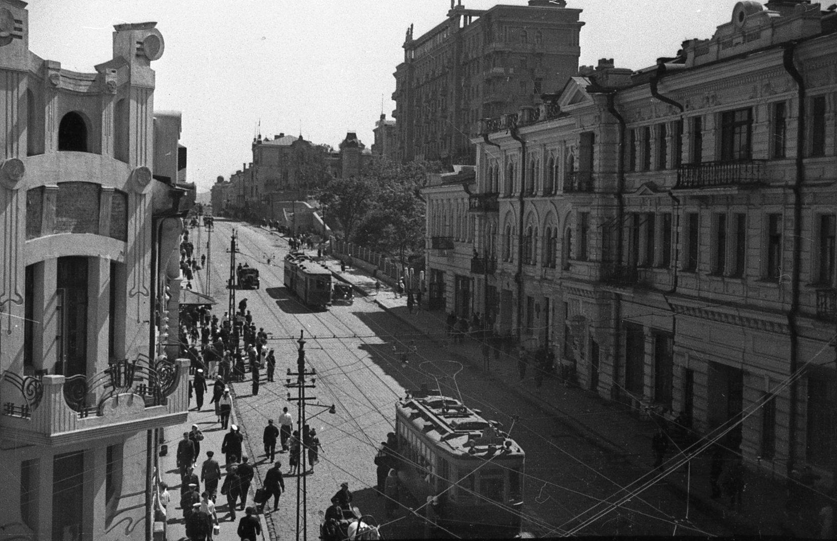 Улица 25 Октября (Алеутская). 1935 год.