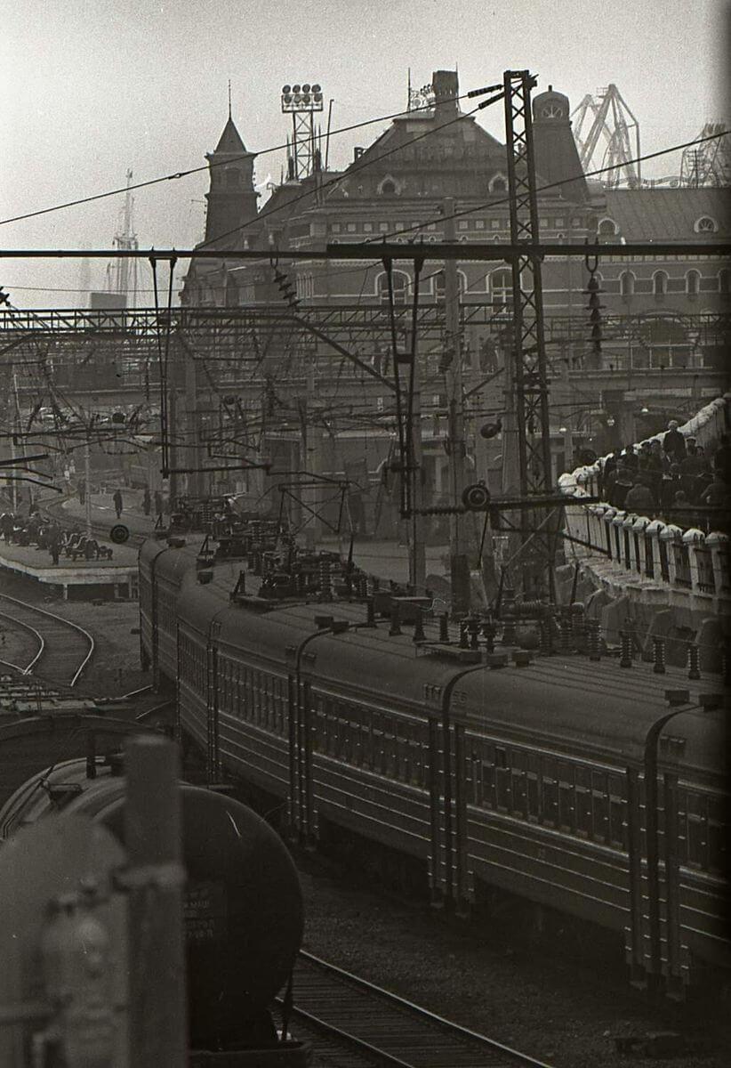 Железнодорожный вокзал. 1971 год.