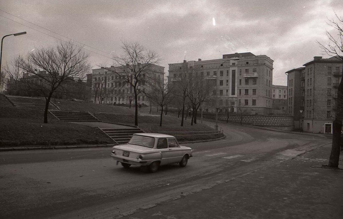 Улицы Уборевича и Суханова. 1972 год.