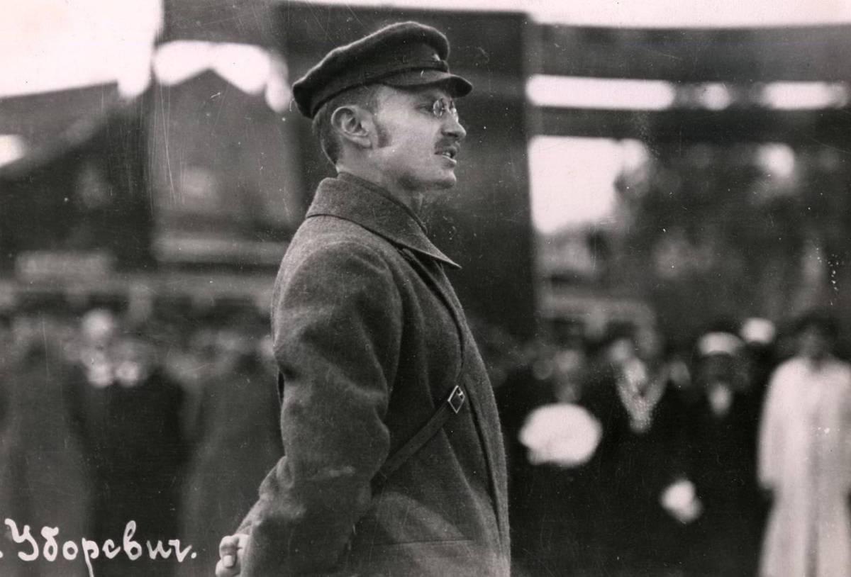 Фотография. Вступление войск НРА в г. Владивосток. Командующий НРА И.П. Уборевич. Октябрь 1922 года.